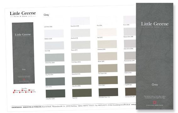Farbinformationen junge maler graf for Farbmuster wandfarbe