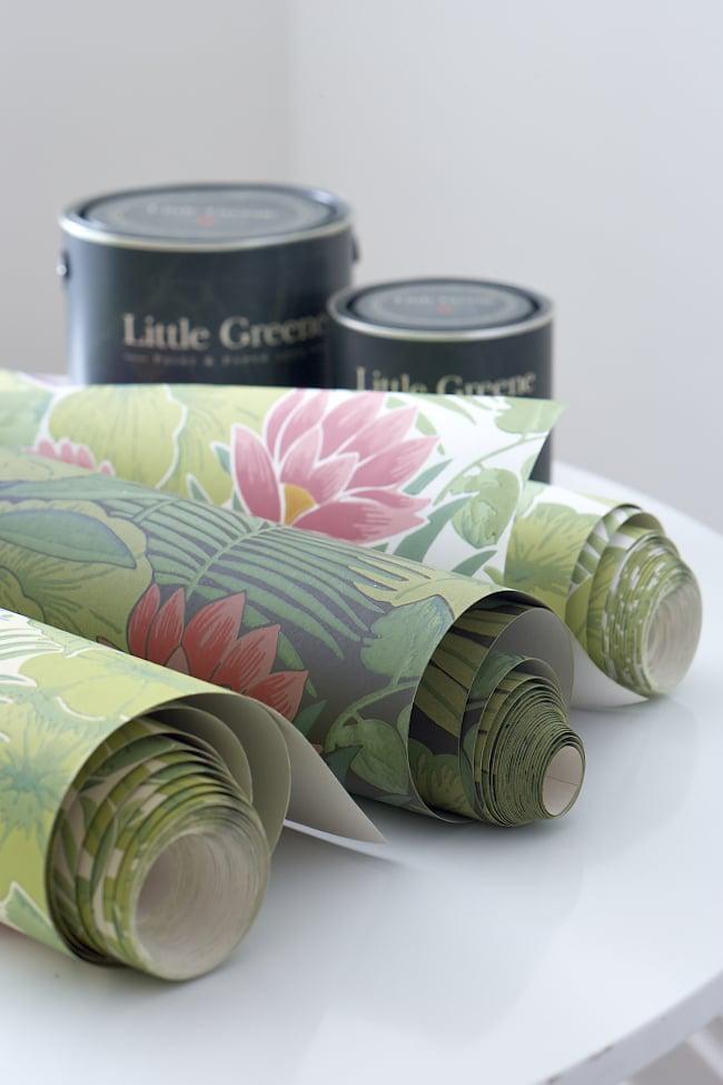 Tapeten und Farben von Little Greene