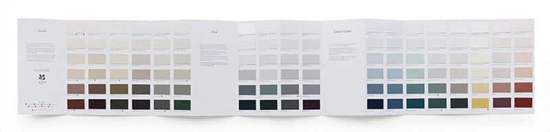 Little Greene Colour Scales Farbkarte